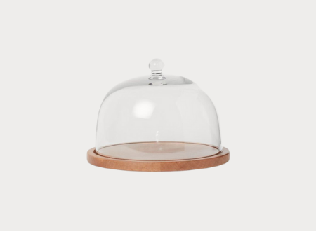 Dome Wooded Tray